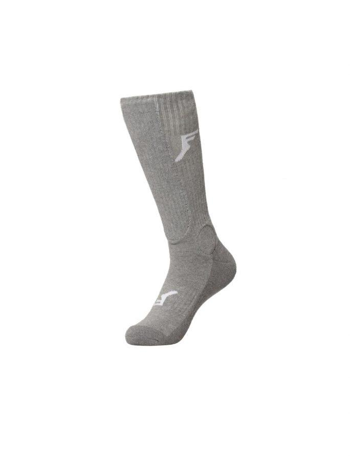 Footprint Painkiller Socks Knee Height