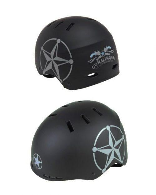 Gunslinger Helmet Black