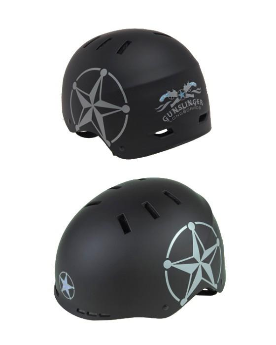 Gunslinger Helmet Black