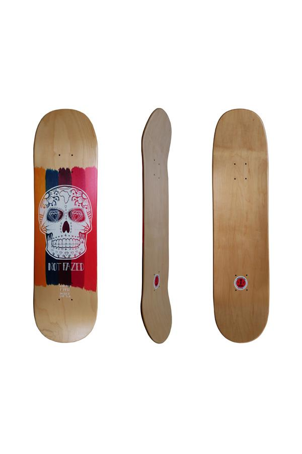 Not Fazed Sugar Skull 8.25 Deck